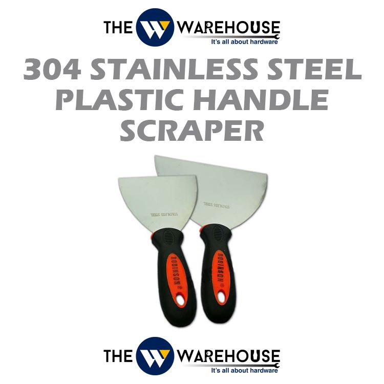304 Stainless Steel Plastic Handle Scraper