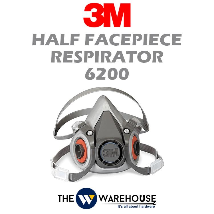 3M Half Facepiece Respirator 6200