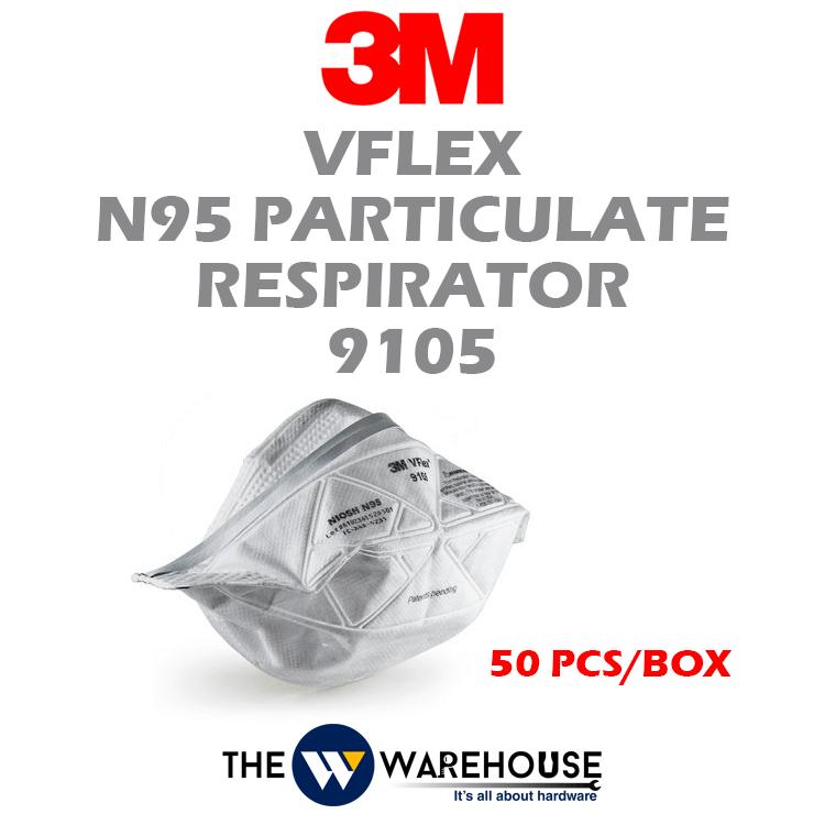 3M Vflex N95 Particulate Respirator 9105