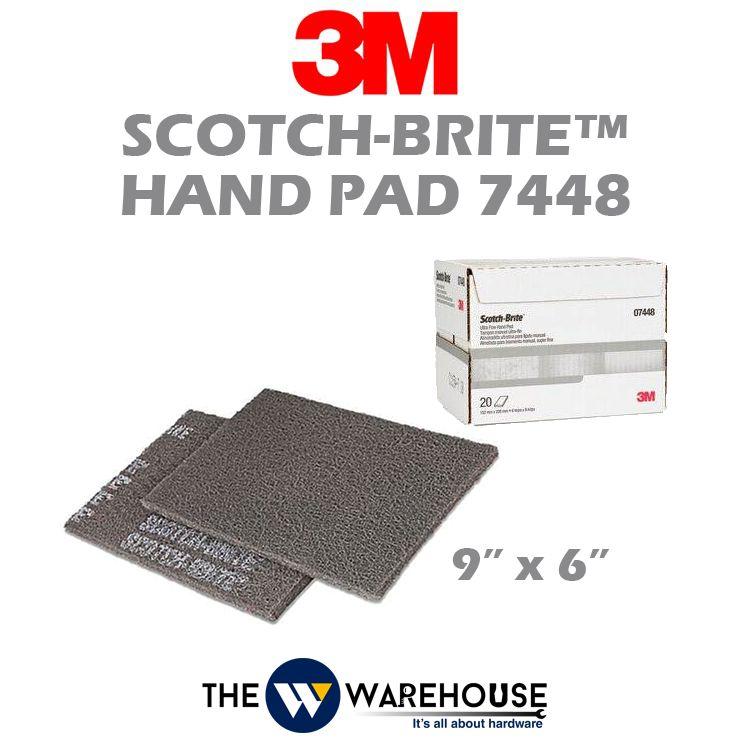 3M Scotch Brite Hand Pad 7448
