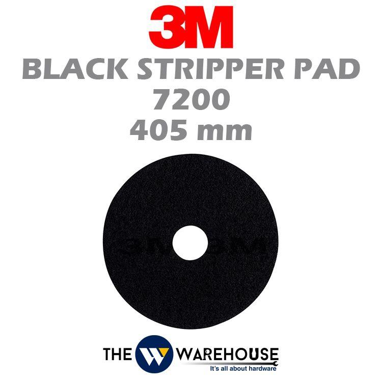 3M Black Stipper Pad 7200