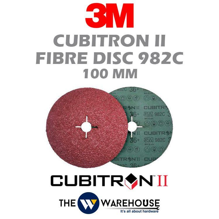 3M Cubitron II Fibre Disc 982C 36+ 27690