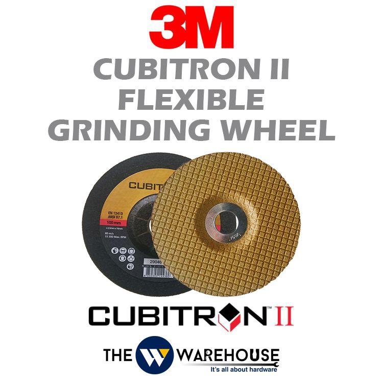 3M Cubitron II Flexible Grinding Wheel