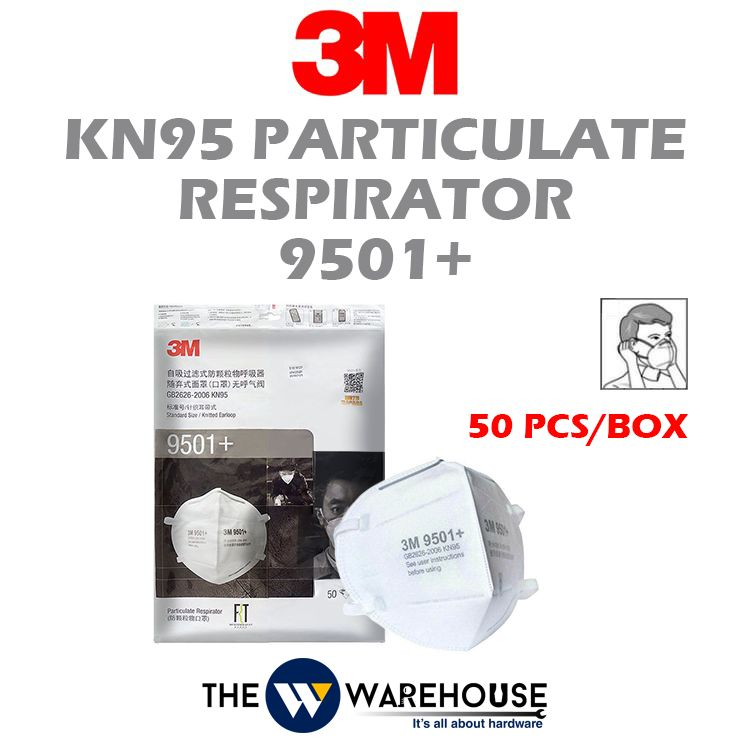 3M KN95 Particulate Respirator 9501+