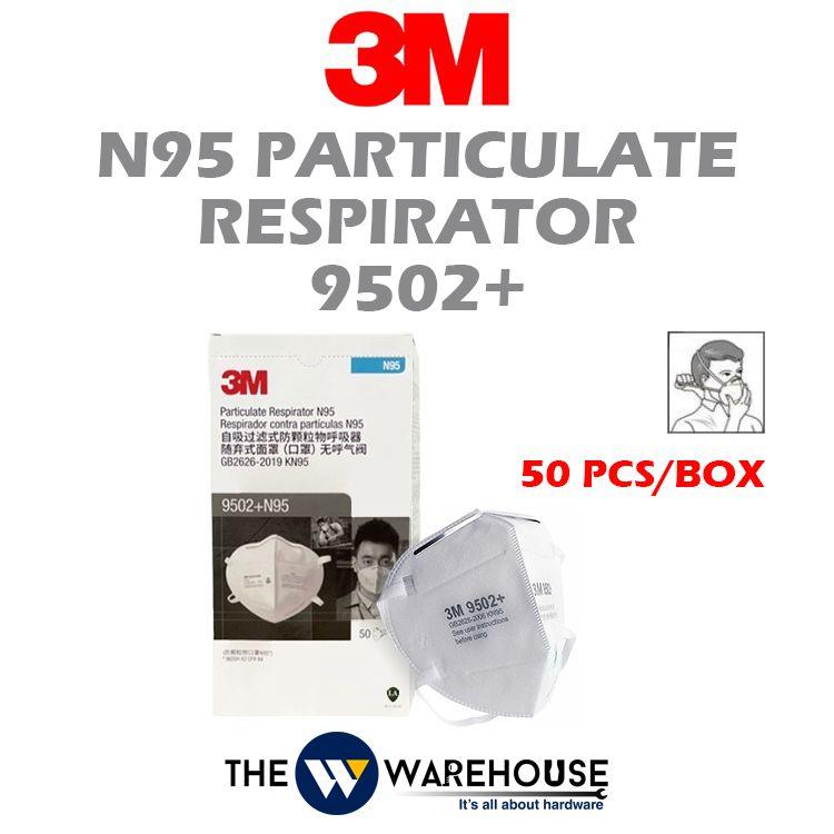 3M N95 Particulate Respirator 9502+