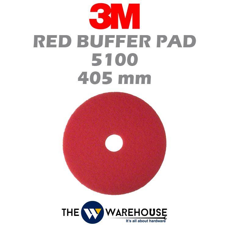 3M Red Buffer Pad 5100