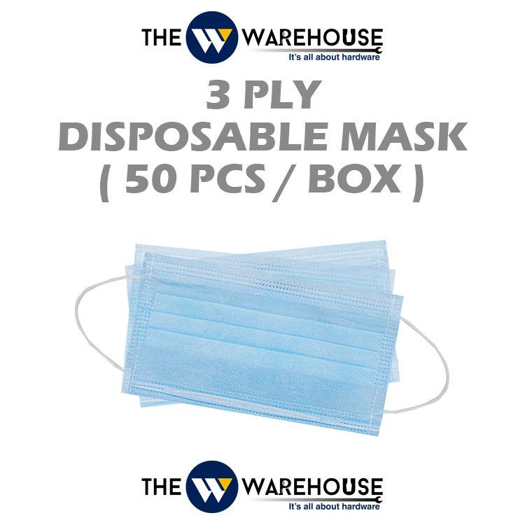 3ply Mask-50pcs