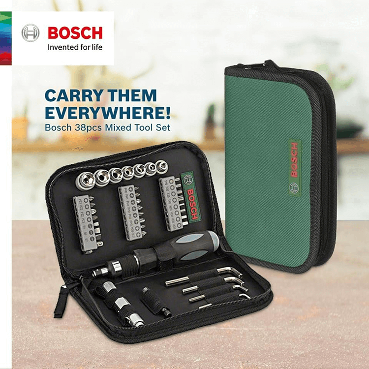 Bosch 38pcs Accessories Set 2607019506