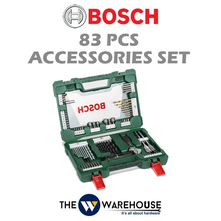 Bosch 83pcs Accessories Set 2607017193