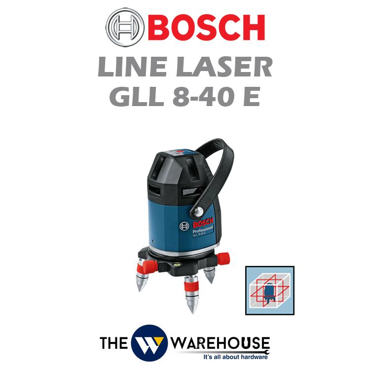 Bosch Electronic Line Laser GLL 8-40 E