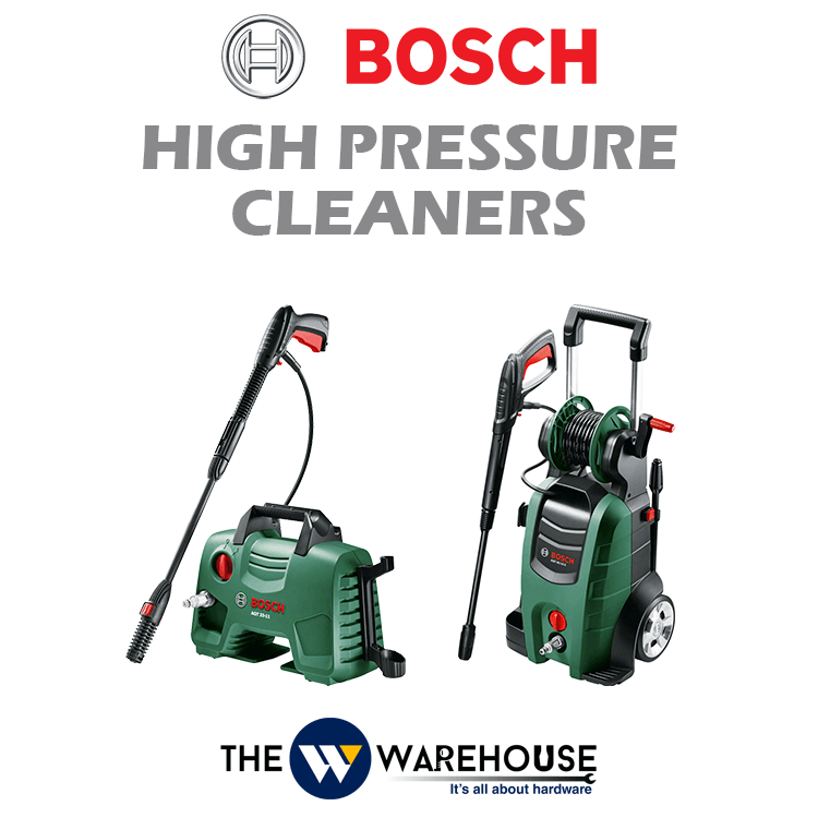 Bosch High Pressure Cleaners