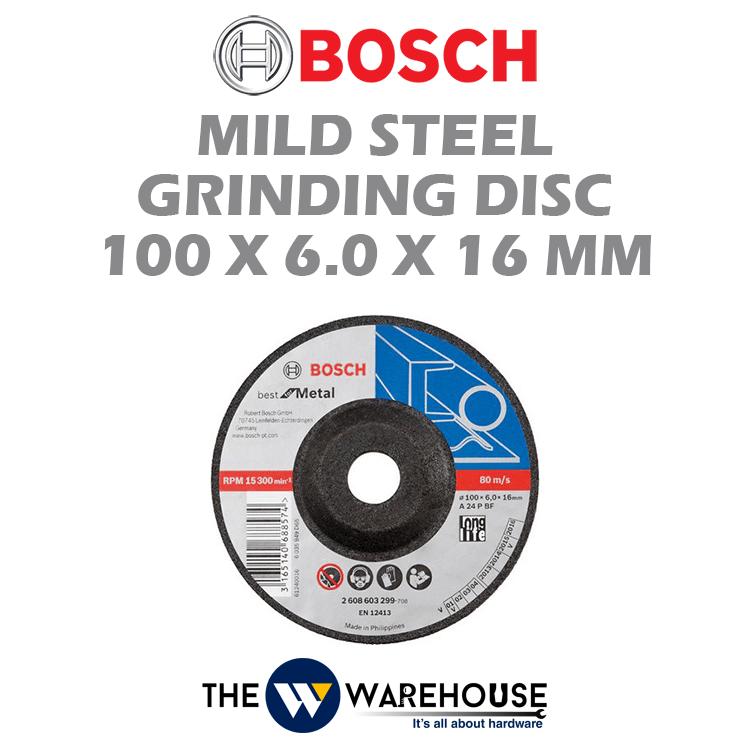 Bosch Mild Steel Grinding Disc 100 MM 2608600017