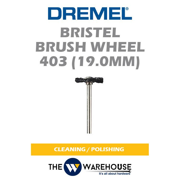 Dremel Bristle Brush Wheel 403