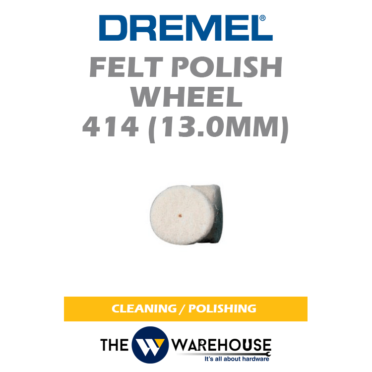 Dremel Felt Polish Wheel 414