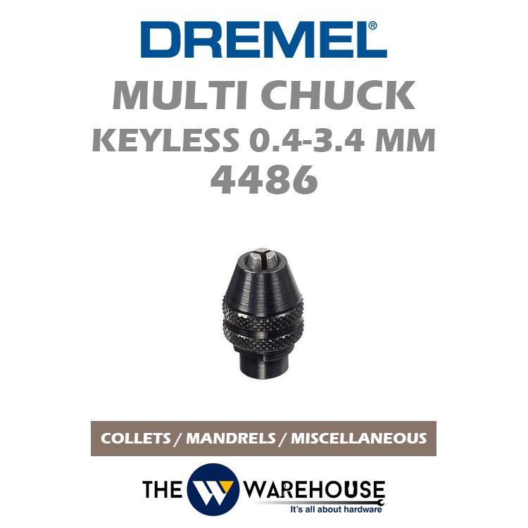 Dremel Multi Chuck Keyless 4486