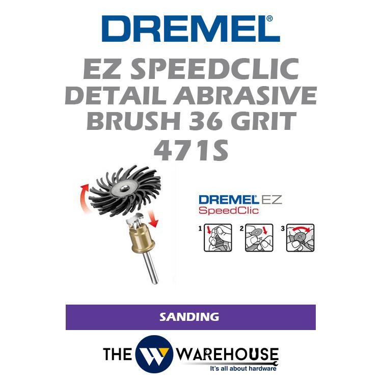 Dremel EZ SpeedClic Detail Abrasive Brush G36 471S