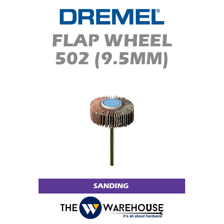 Dremel Flap Wheel 9.5mm G80 502