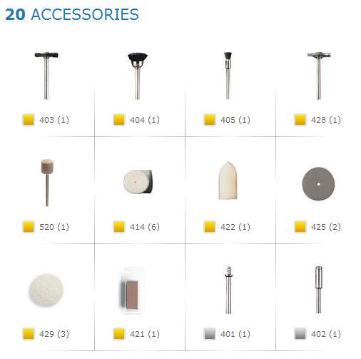 Dremel 684 Cleaning Polishing Set