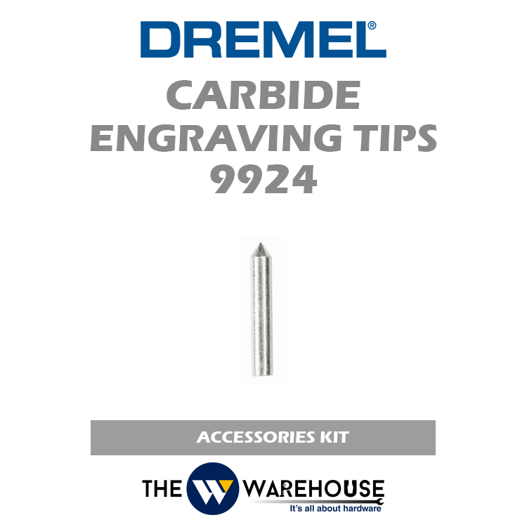 Dremel Carbide Engraving Tips 9924