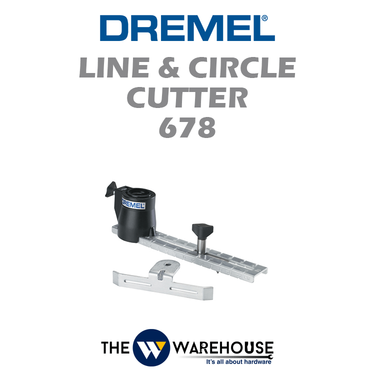 Dremel Line & Circle Cutter 678