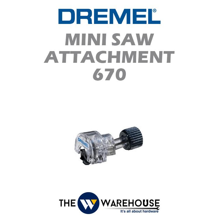 Dremel Mini Saw Attachment 670