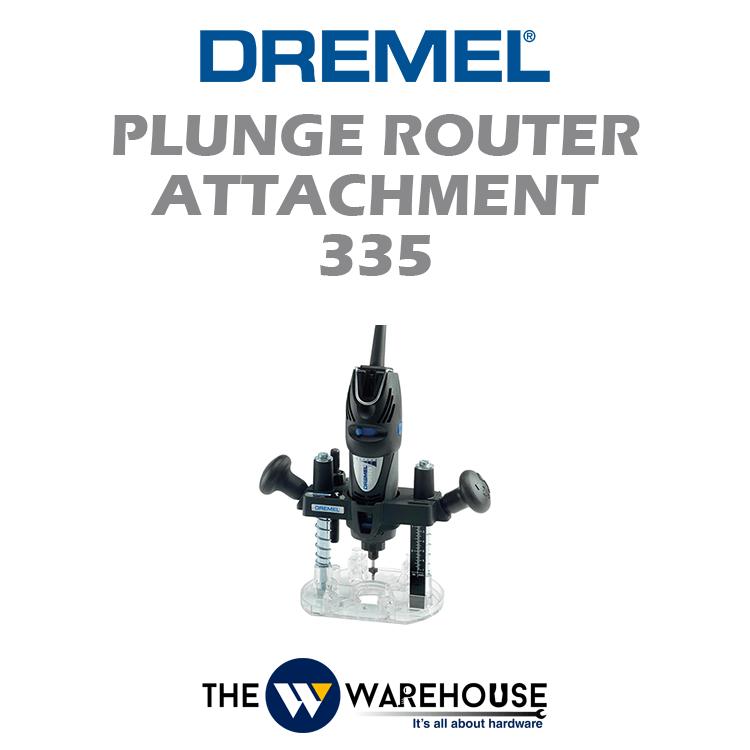 Dremel Plunge Router Attachment 335