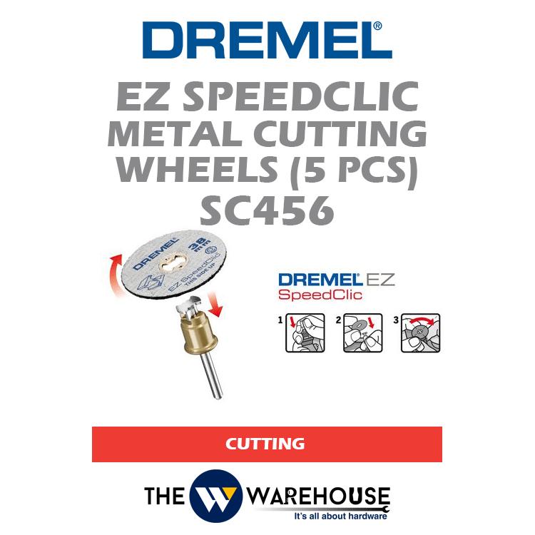Dremel EZ SpeedClic Metal Cutting Wheels SC456