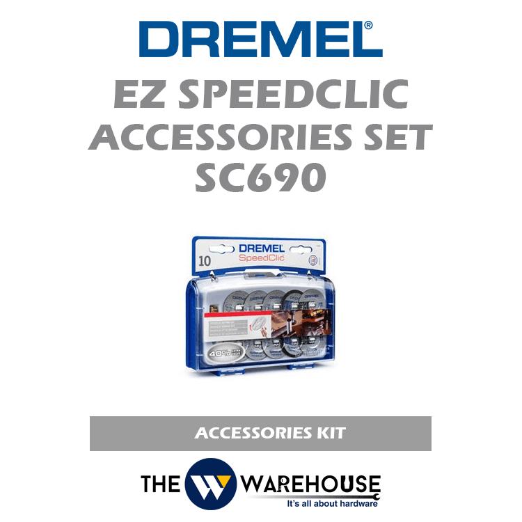Dremel EZ SpeedClic Cutting Accessories Set SC690