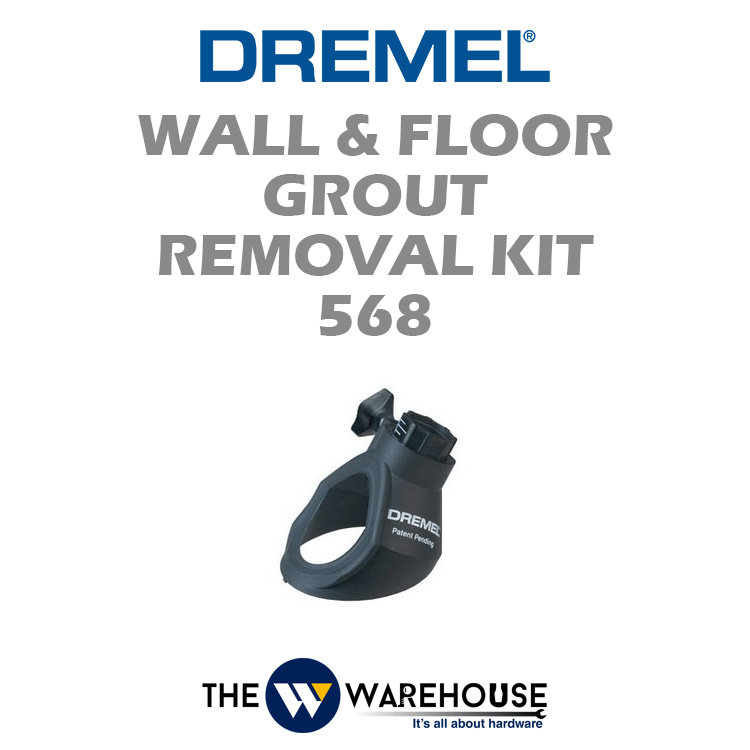 Dremel Wall & Floor Grout Removal Kit 568