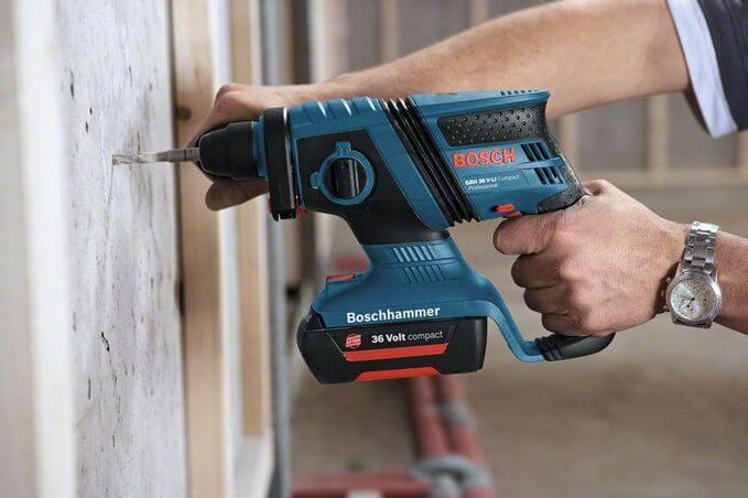 Bosch Cordless Rotary Hammer GBH 36 V-EC Compact