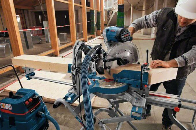 Bosch Double Bevel Sliding Mitre Saw GCM 12 GDL