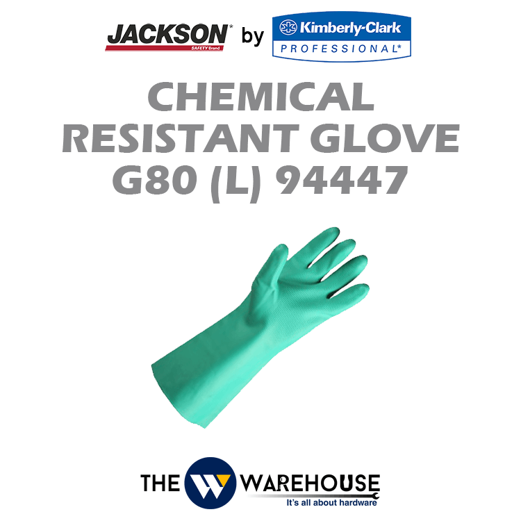 Jackson Safety G80 Nitrile Chemical Resistant Glove 94447