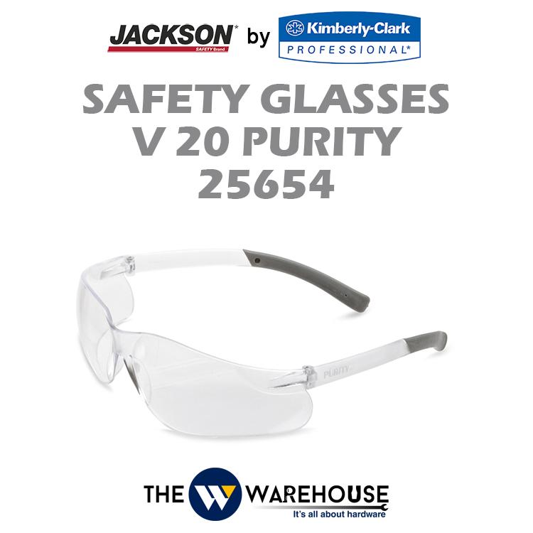 Jackson Safety V20 Safety Glasses 25654