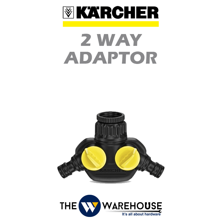 Karcher 2 Way Adaptor