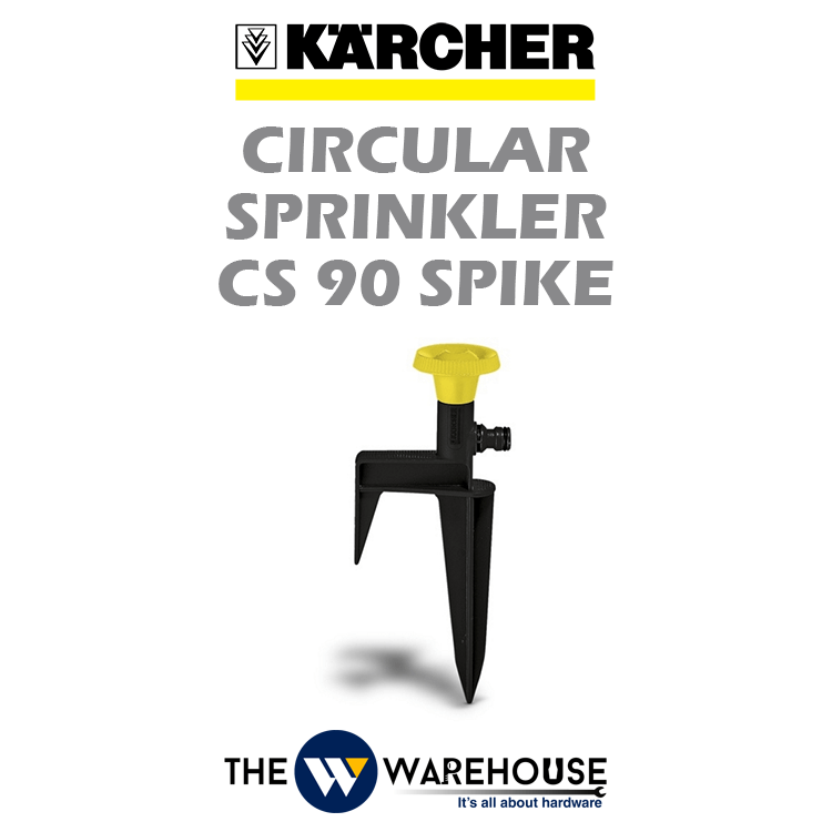 Karcher Circular Sprinkler CS 90 Spike