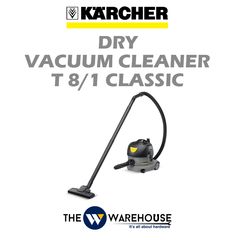 Karcher Dry Vacuum Cleaner T 8/1 Classic