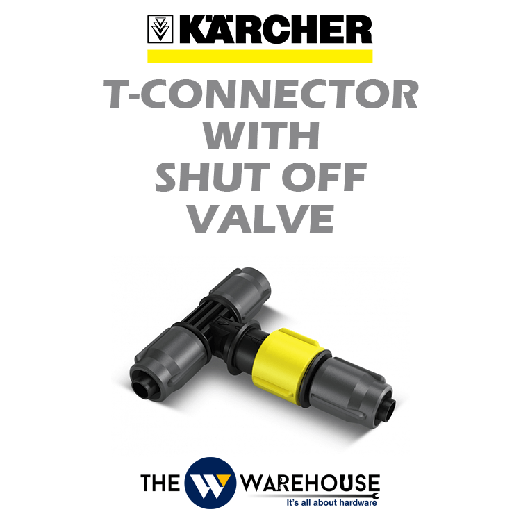 Karcher T Connector with Water Flow Regulation