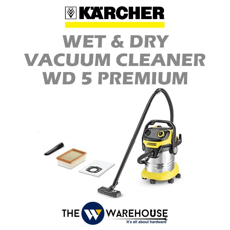 Karcher Wet & Dry Vacuum Cleaner WD 5 Premium