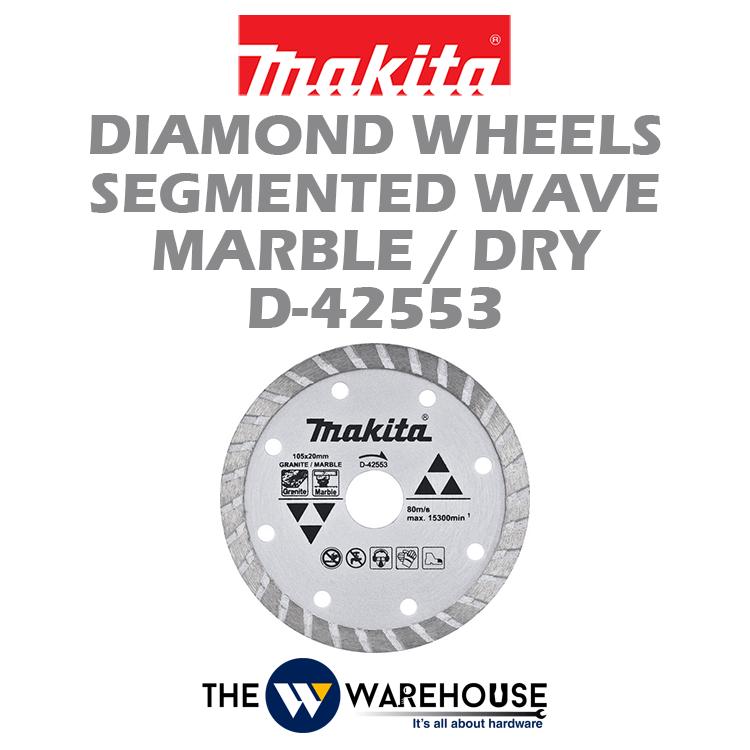Makita Diamond Wheels Segmented Wave D-42553