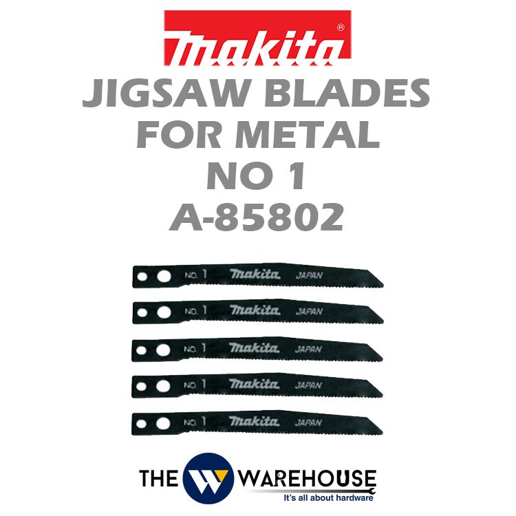 Makita Jigsaw Blades No 1 A-85802