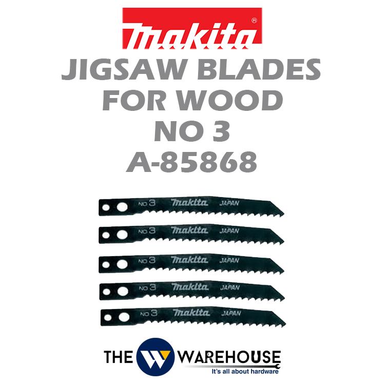 Makita Jigsaw Blades No 3 A-85868
