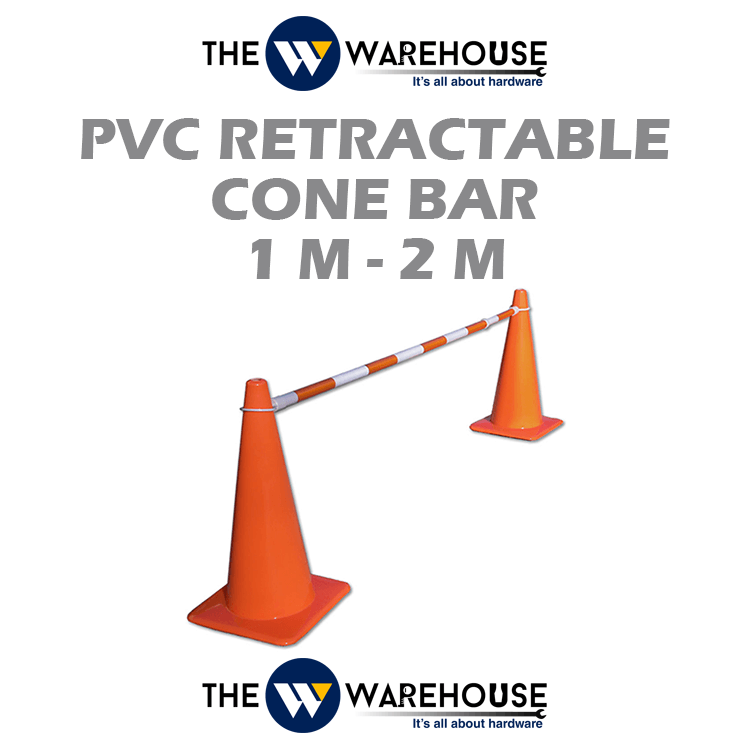 PVC Retractable Cone Bar