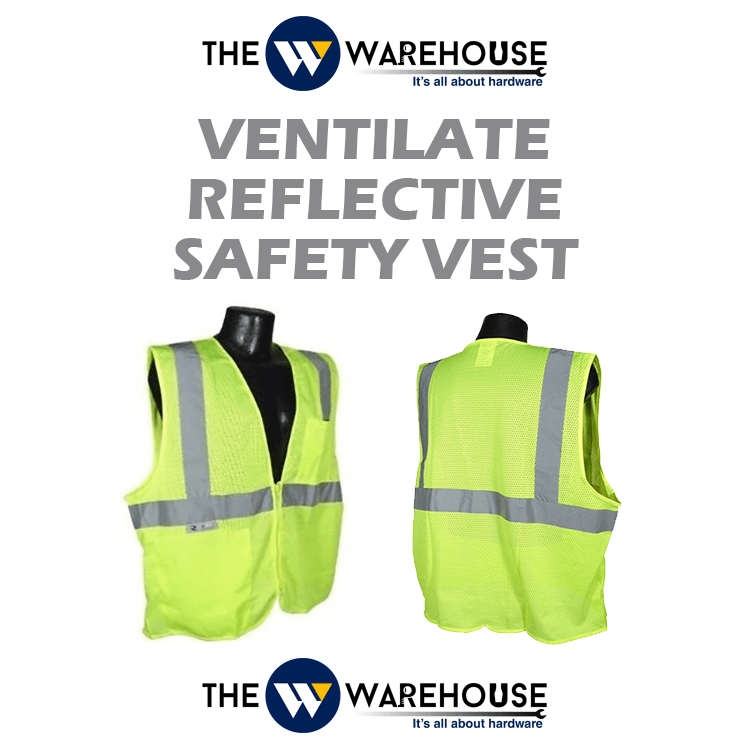 Ventilate Reflective Safety Vest