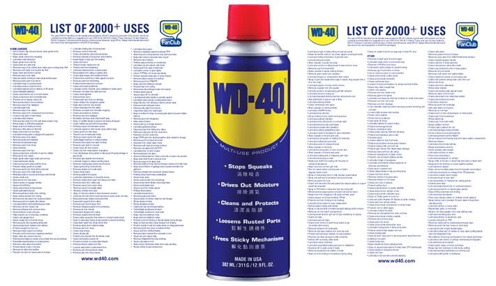 WD-40 2000 USES