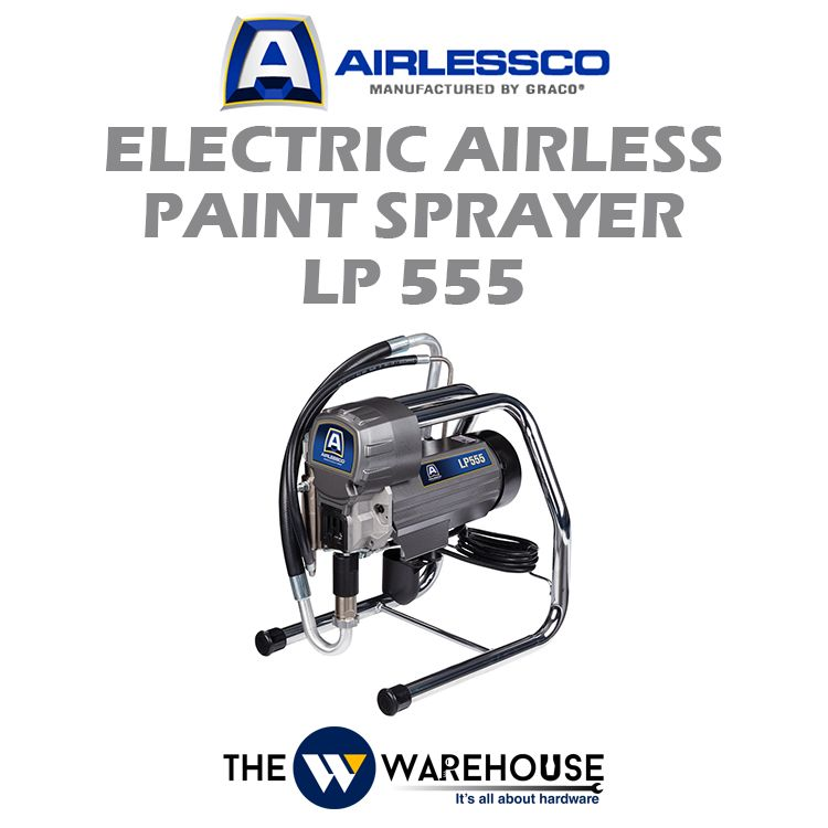 Airlessco Electric Airless Paint Sprayer LP555