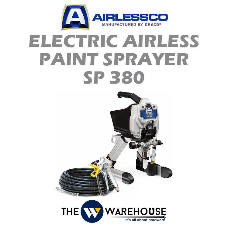 Airlessco Electric Airless Paint Sprayer SP380