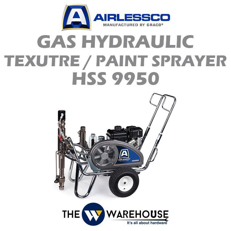 Airlessco Gas Hydraulic Texutre / Paint Sprayer HSS9950