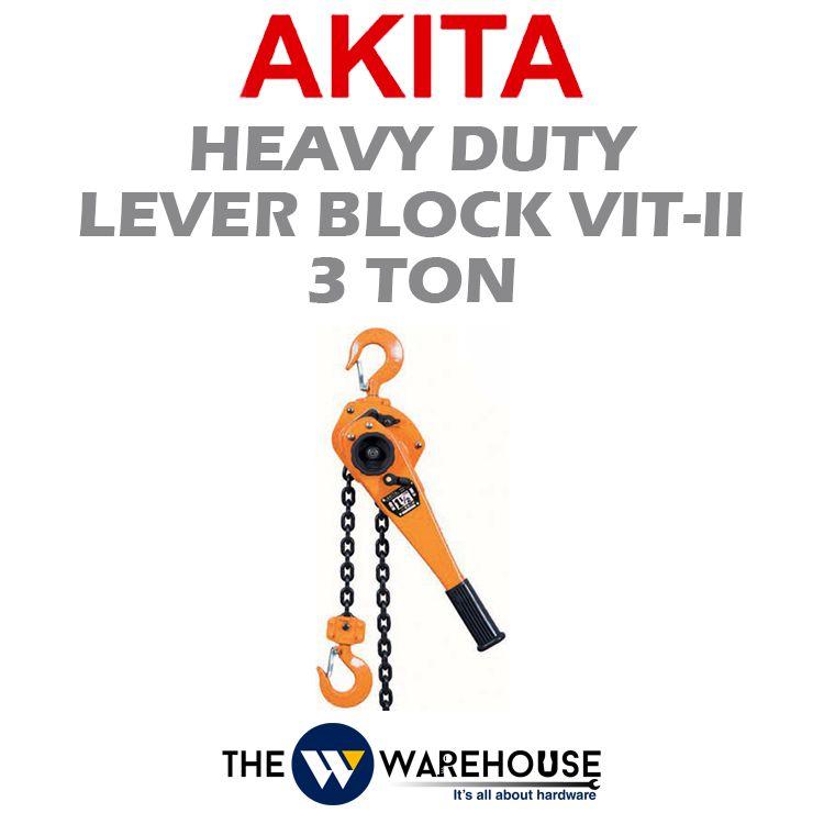 Akita Heavy Duty Lever Block VIT-II Type 3 ton