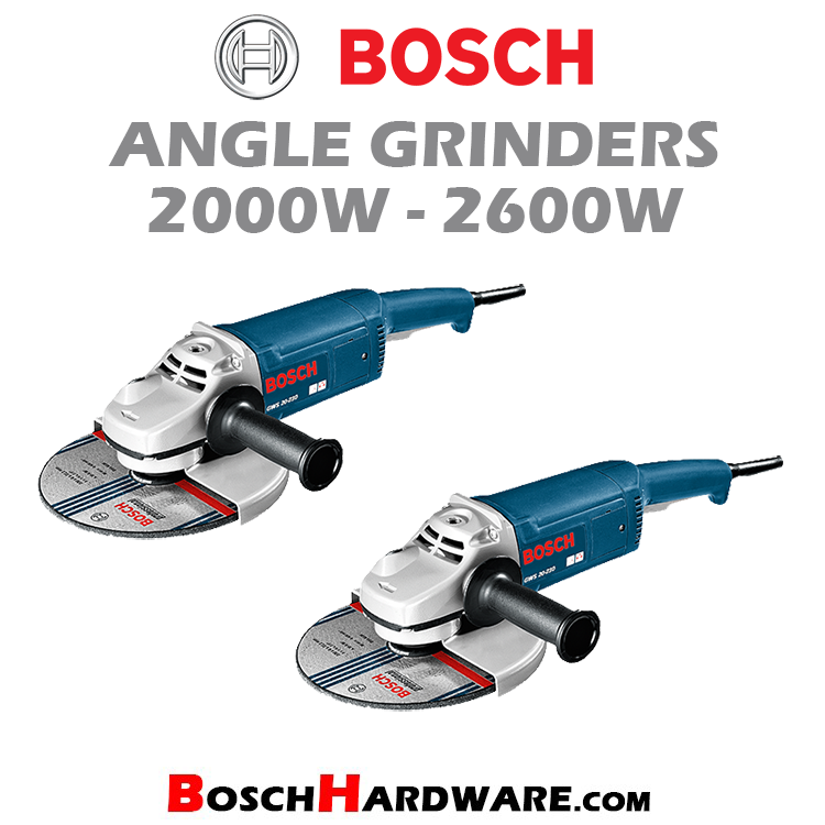 Angle Grinders 2000W-2600W