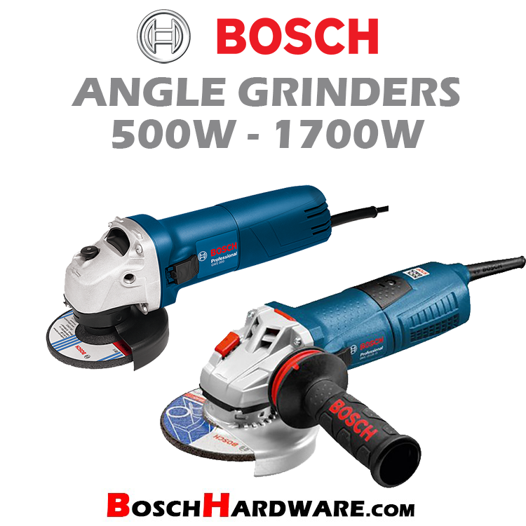 Angle Grinders 500W-1700W